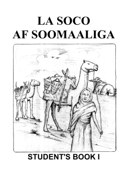 LaSoco Af-Soomaaliga - Students Book 1 (by Joy Carter)