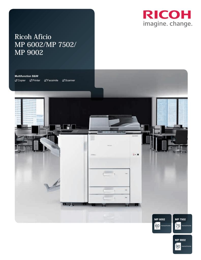 How to fix paper jam Ricoh-MP-6002 printer