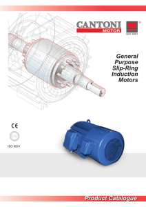 General Purpose Slip-Ring Induction Motors Product Catalogue