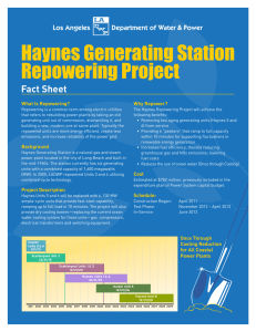Haynes Generating Station Repowering Project