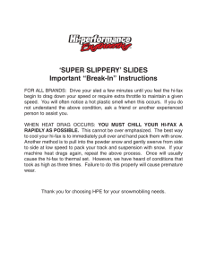 "`SUPER SLIPPERY` SLIDES Important ""Break"