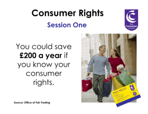 Consumer Rights - Consumer Council