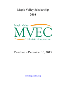 Magic Valley Electric Cooperative, Inc