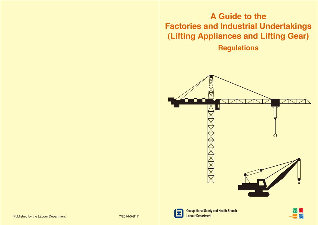 Lifting Appliances and Lifting Gear