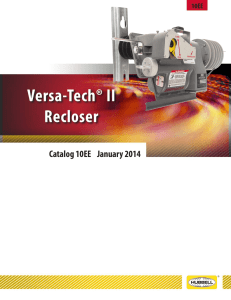 Versa-Tech® II Recloser