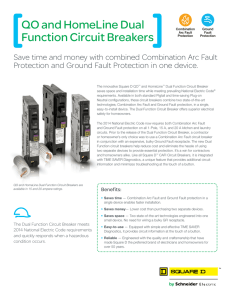 QO and HomeLine Dual Function Circuit Breakers