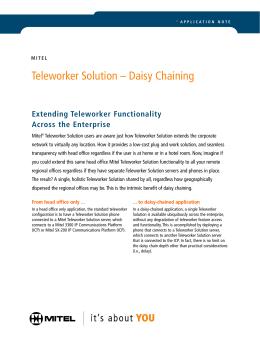 Telework Self Certification Checklist