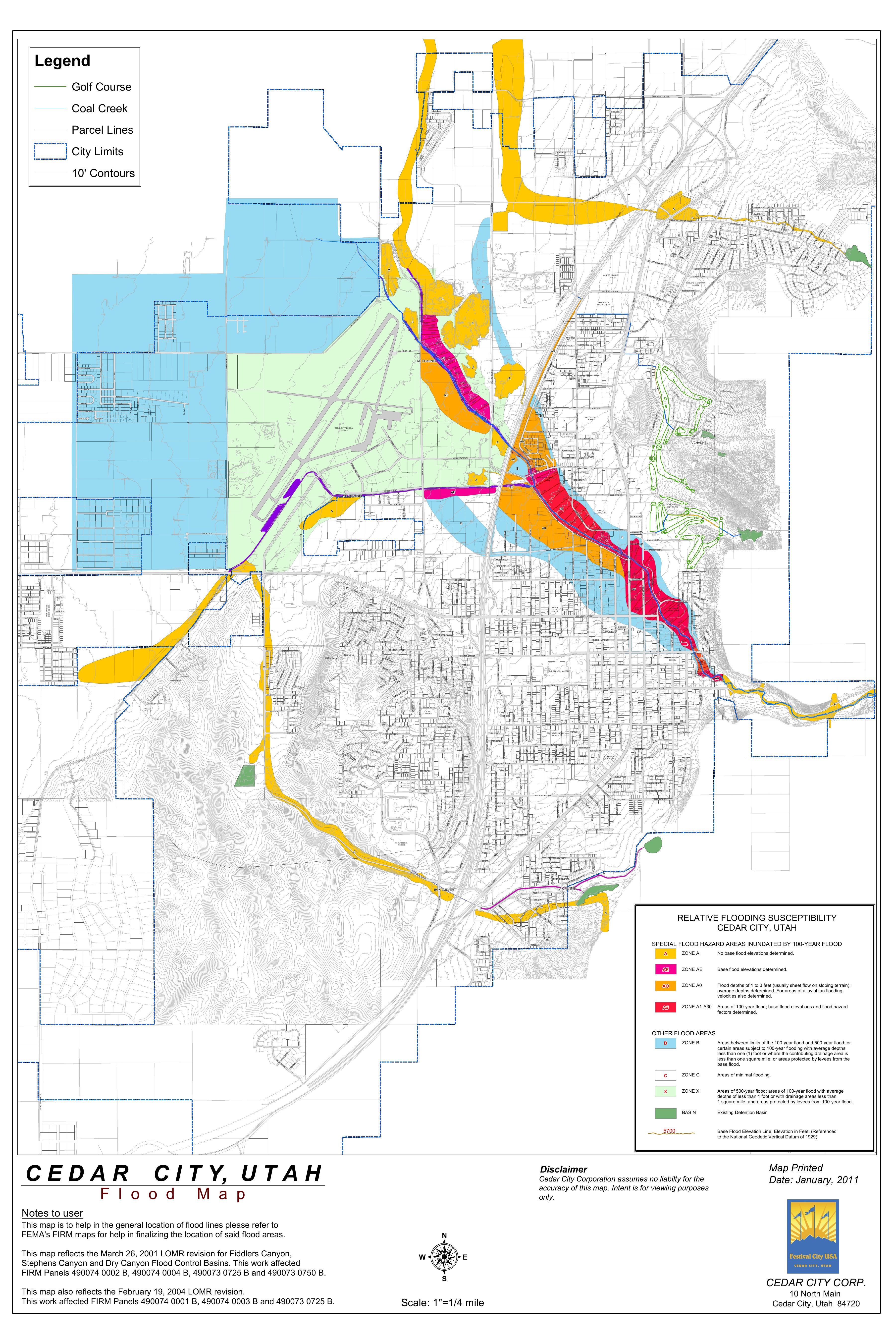 FEMA Flood Zones