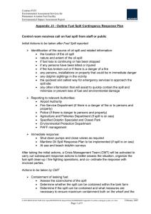 emergency response checklist incident recognition and. Black Bedroom Furniture Sets. Home Design Ideas