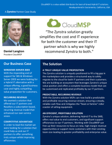 """The Zynstra solution greatly simplifies the cost and IT experience for"