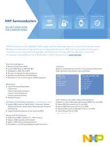 NXP Company Fact Sheet