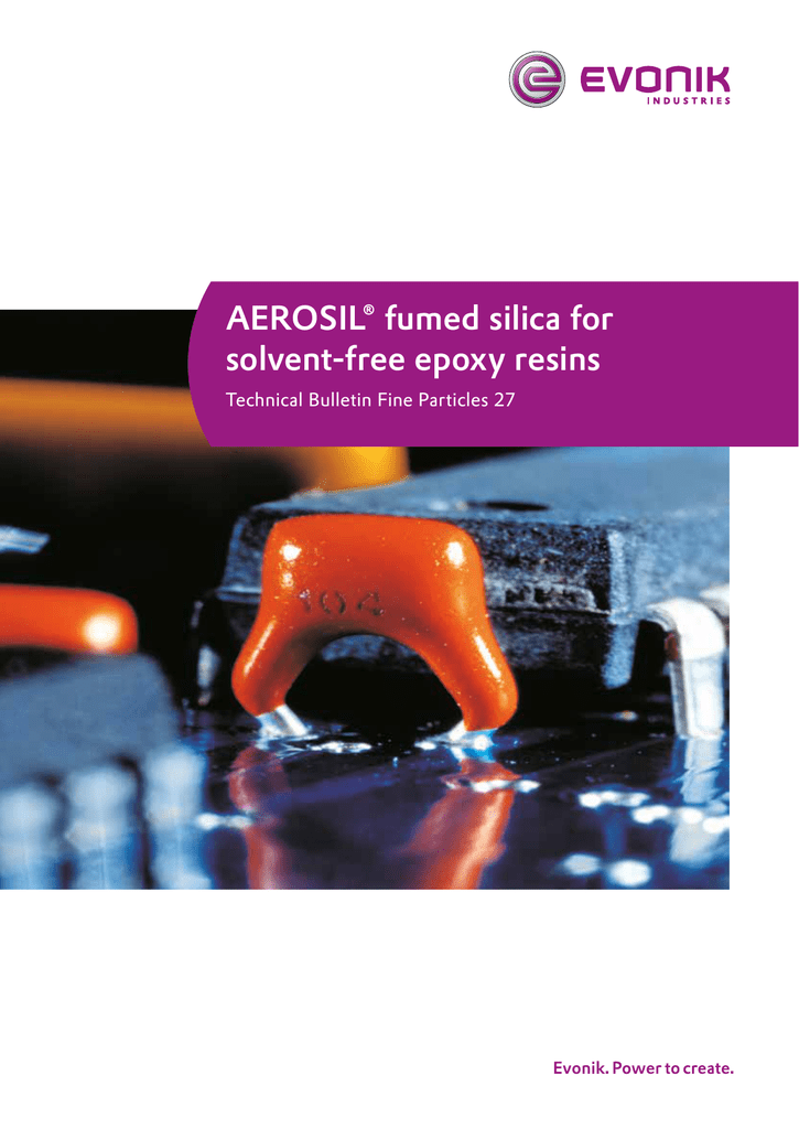 AEROSIL® fumed silica for solvent