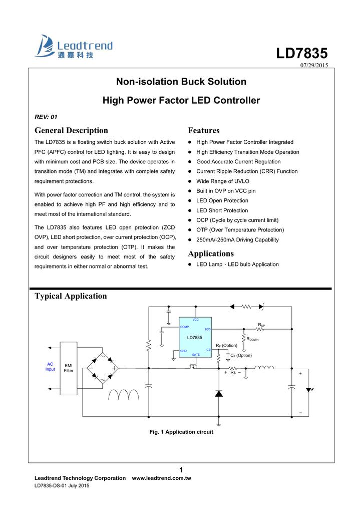 LD7835 - Leadtrend Technology