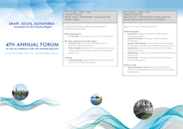 29th October | 13.00 – 14.00 OPENING SESSION SMART, SOCIAL