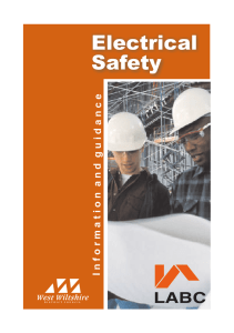 Electrical Safety - Wiltshire Council