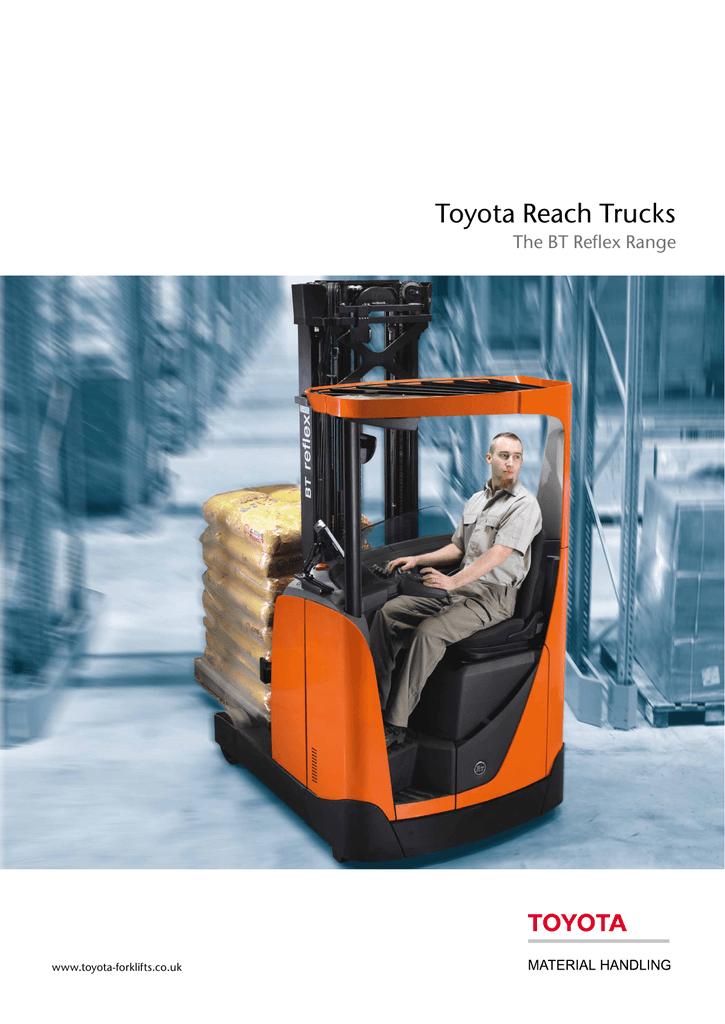 Toyota Reach Trucks - Toyota Material Handling UK