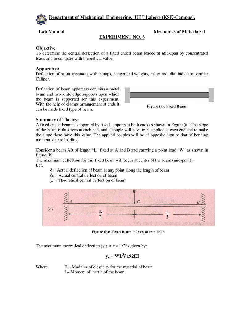 File - Department of Mechanical Engineering, UET