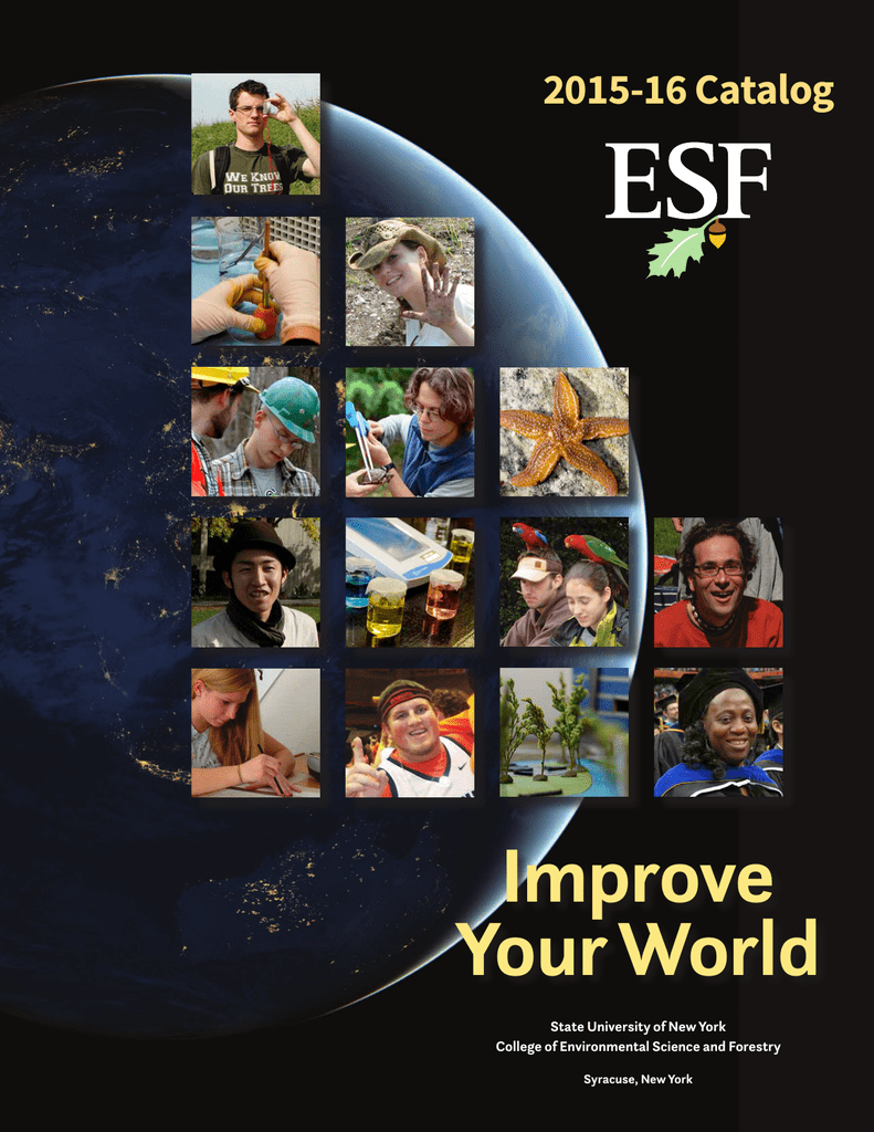 Suny Esf Academic Calendar.2015 2016 Suny Esf