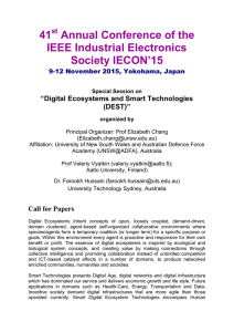 41 Annual Conference of the IEEE Industrial Electronics Society