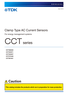 CCT Series - TDK Product Center