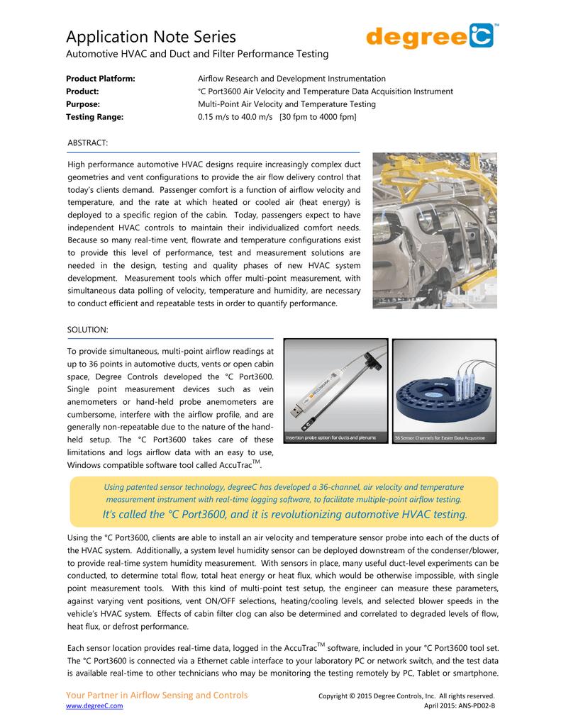Automotive HVAC and Duct