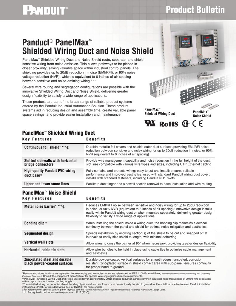Perfect Panduit Wiring Duct Motif - Wiring Schematics and Diagrams ...