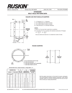 standard bolt hole pattern data