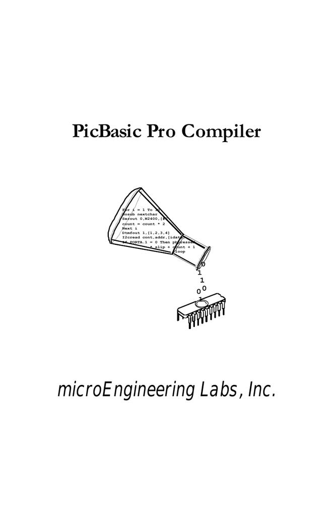 picbasic pro 3.1