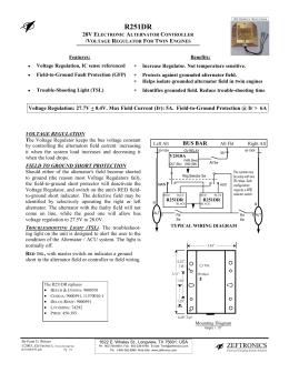 r15100 zeftronics zeftronics r251dr 24volt voltage regulator