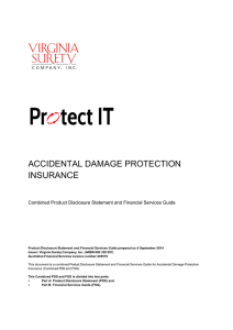 Protect IT Accidental Damage Protection Insurance