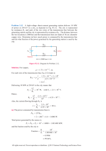 Problem 2.12 A high-voltage direct