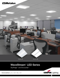 WaveStream LED Series - Viking Electric Supply