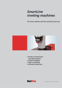 SmartLine riveting machines