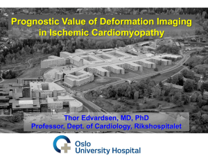 Prognostic Value of Deformation Imaging in Ischemic Cardiomyopathy