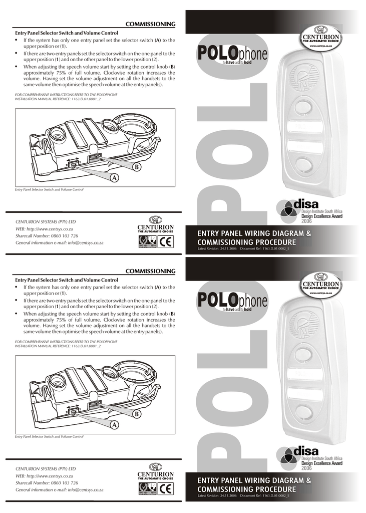 1163d0100025 polophone wiring diagram