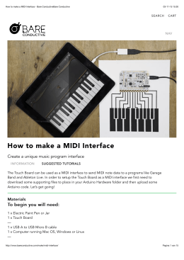 How to make a MIDI Interface - Bare