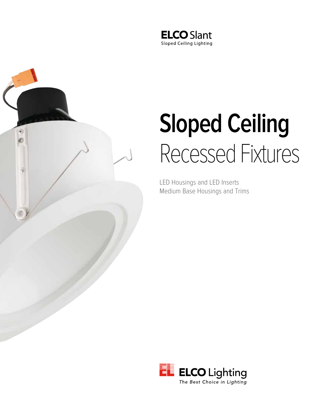 Sloped Ceiling Recessed Fixtures