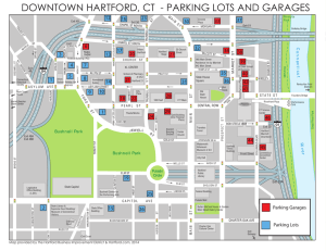 Parking Lots and Garages Map