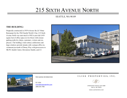 215 Sixth Avenue North   Clise Properties, Inc.