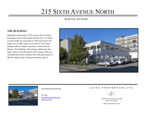 215 sixth avenue north - Clise Properties, Inc.