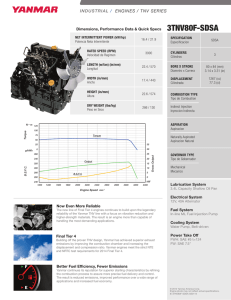 INDUSTRIAL / ENGINES / TNV SERIES INDUSTRIAL