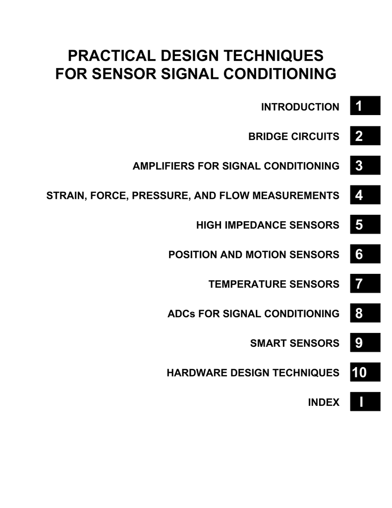Practical Design Techniques For Sensor Signal Conditioning Com Circuitdiagram Basiccircuit Filtercircuit Highpassfilter 018295170 1 A85ff8c6daa04bae1e0aab649d090261