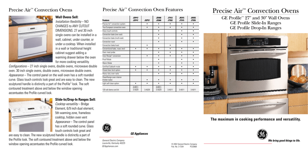 Precise Air™ Convection Ovens - Products