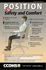 Position for Safety and Comfort