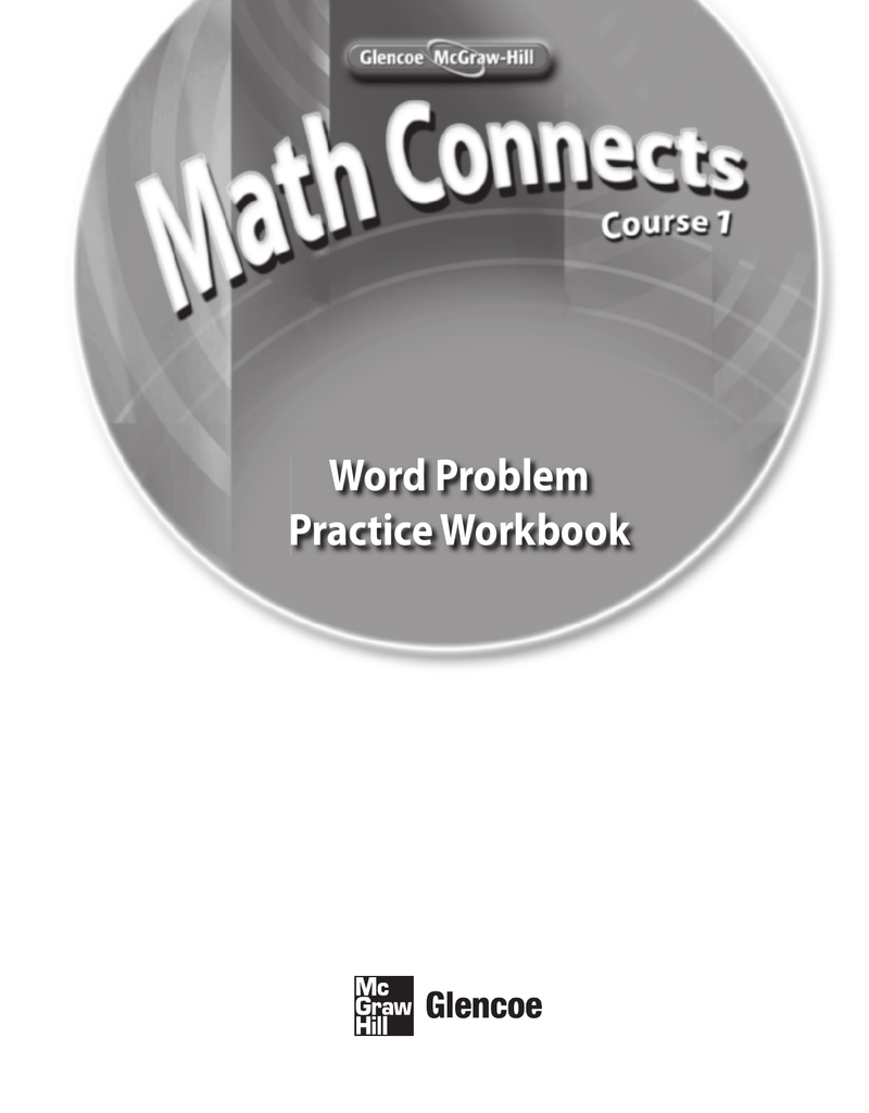 Word Problem Practice Workbook - McGraw