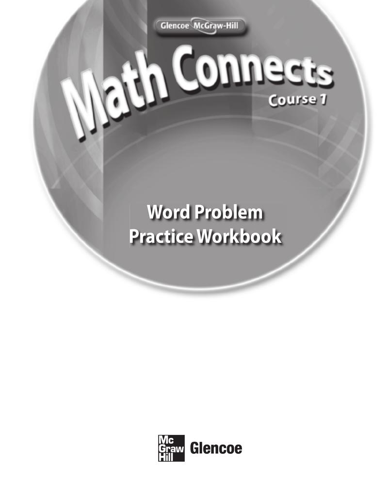 Workbooks practice workbook : Word Problem Practice Workbook - McGraw