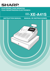XE-A41S - sharp registers