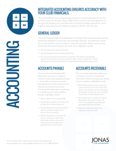 integRAted Accounting ensuRes AccuRAcy with youR club