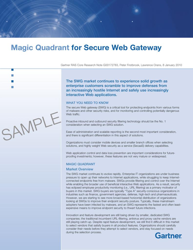 Magic Quadrant For Secure Web Gateway Anti Virus Mcafee Internet Security 3 Tahun 1 User 018296417 1d02fe529fd92e2ca174daffa2283f23