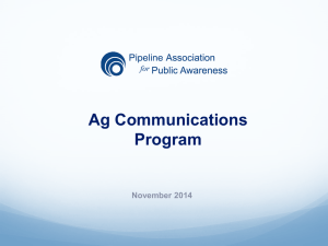 Ag Communications Program